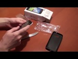 Распаковка дешевого телефона ZTE